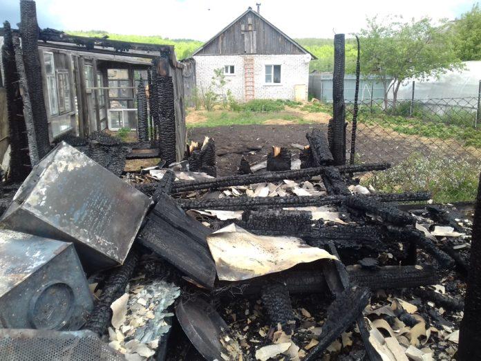 В базарносызганском селе подожгли конюшню и крольчатник: погибли корова и 75 кроликов