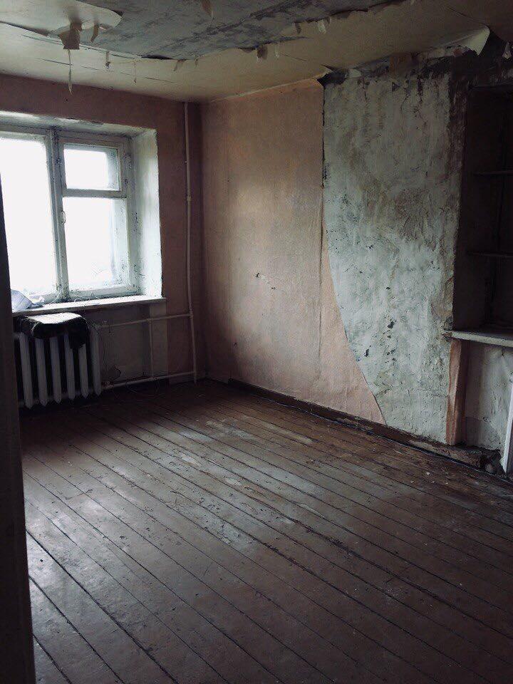 Погорельцам с грудным ребенком выделили квартиру без ремонта и с плесенью. Ульяновск погорельцы,выдали непригодное для жизни жилье, жилье не пригодное для жизни,