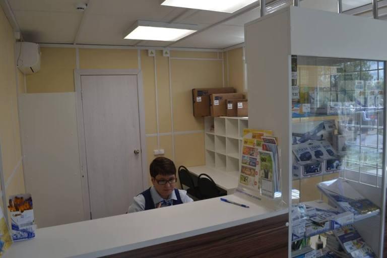 Так вот ты какое, чудо инновационное. В Ульяновской области открыли первую модульную «Почту России»