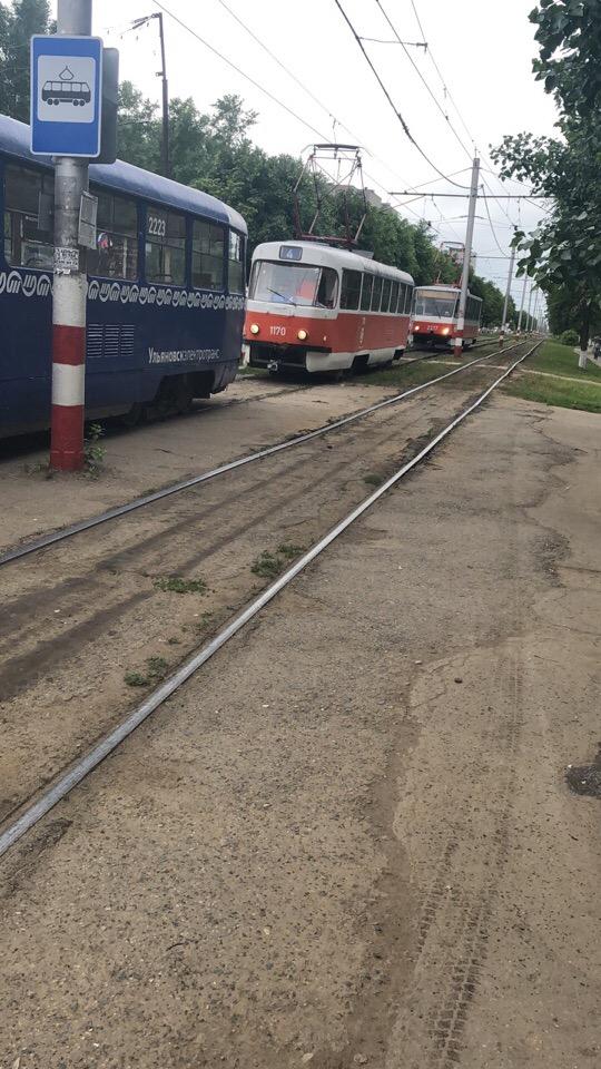 Возле ДК «Современник» трамвай наехал на пенсионерку.