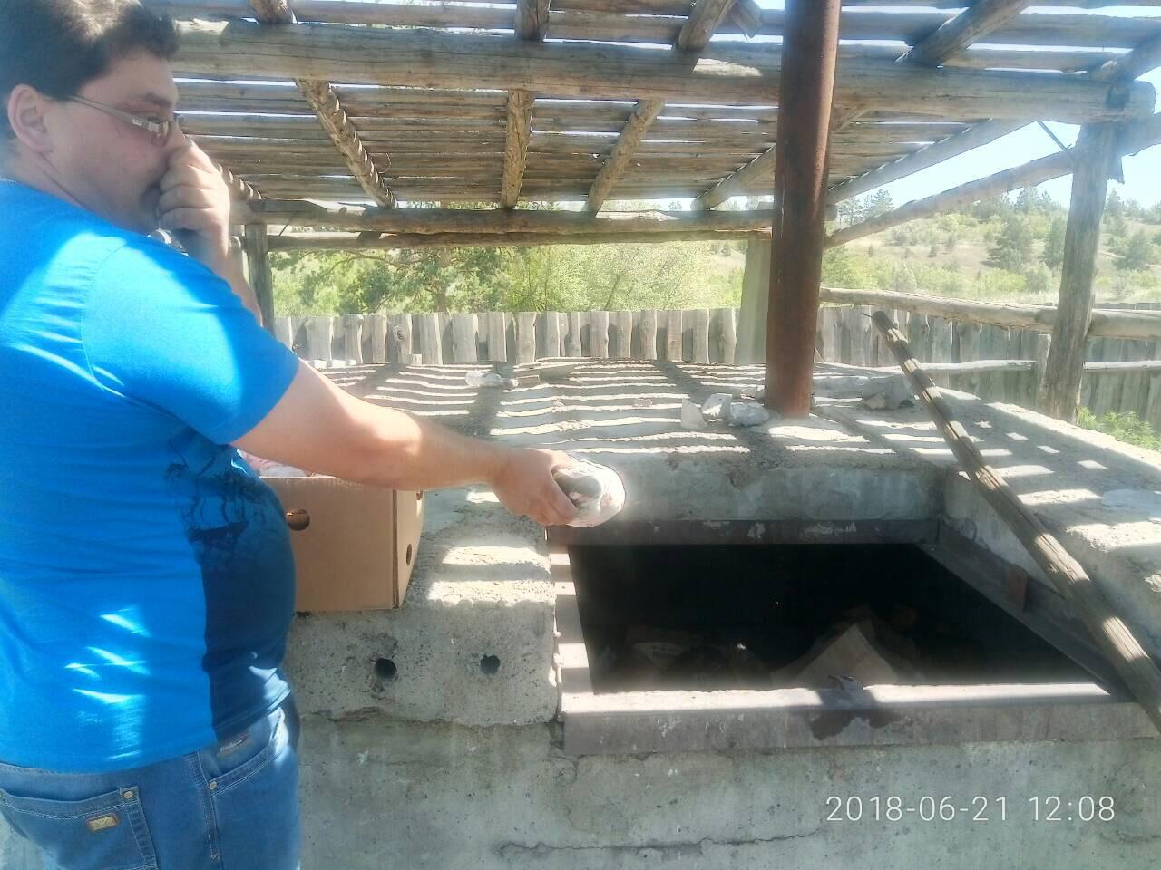 Утилизировали в яму Беккари. «Магнит» в Новоспасском уничтожил 270 кг опасного мяса птицы