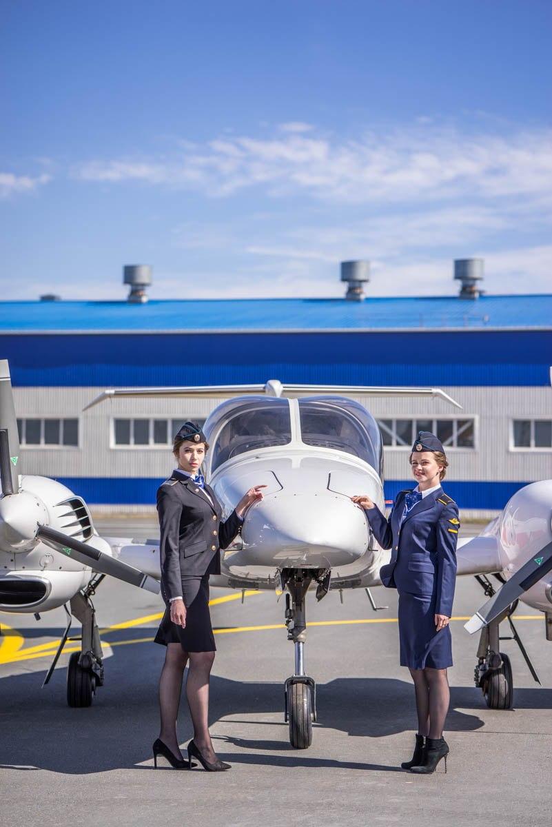 Лучше, чем «satisfaction». Студентки УИГА снялись для журнала «FLY RUSSIA»