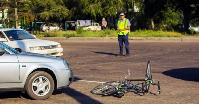 Водитель под наркотиками сбил велосипедиста