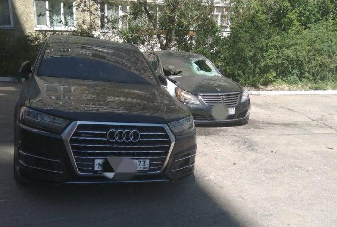 в Димитровграде сожгли машины заместителя главы города и директора НИИАР