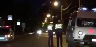 В Ленинском районе водитель ВАЗа сбил человека.