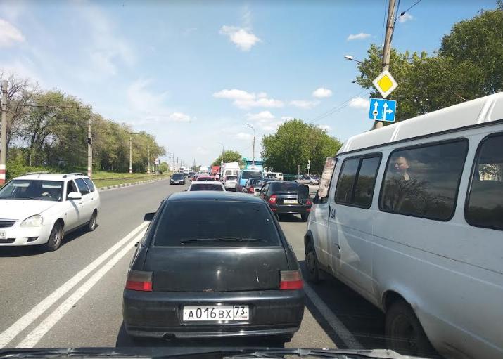 На Локомотивной КИА влетела в Шкоду ДТП Ульяновск