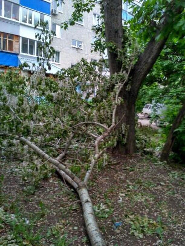 Никому ненужные дворы Ульяновска.