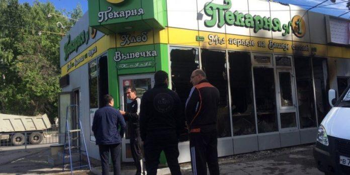 На севере Ульяновска сожгли пекарню Криминал Ульяновск, поджог,сгорело помещение,