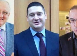 Бакаев, Гвоздев, Эдварс ЗА повышение пенсионного возраста