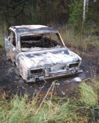 """В Ульяновской области сгорела """"шестерка"""""""