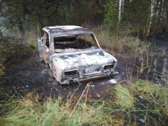 В Ульяновской области сгорела