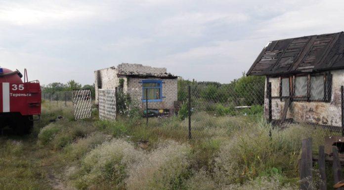 Грозовой разряд стал причиной пожара в Тереньгульском районе
