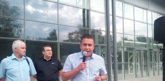 Сегодня я поучаствовал в митинге против пенсионной реформы, который, согласно ранее заявленному местной организацией КПРФ графику, проходил на Нижней террасе.
