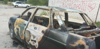 В Ульяновске подожгли «десятку»