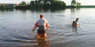 Ульяновские спасатели вытащили из Волги тело утонувшего