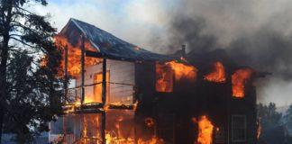 За сутки под Ульяновском сгорели три частных дома