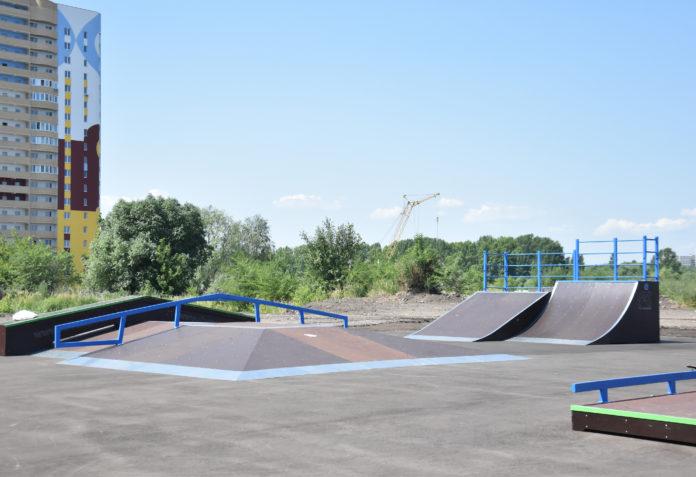 В Ульяновске открыли новый скейт-парк