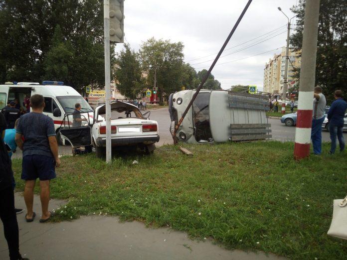 В Димитровграде столкнулись