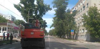 До 17 августа в Ульяновске перекрыли улицу Гагарина
