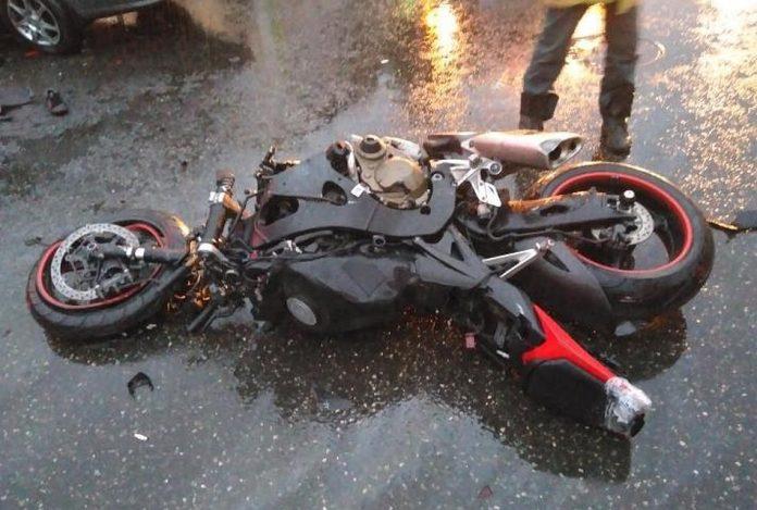 Под Ульяновском двое подростков угнали мотоцикл и попали в ДТП