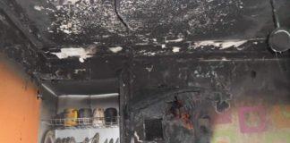 В Ульяновске во время пожара сгорел заживо мужчина