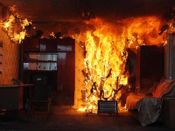 В Ульяновской области за полгода на пожарах погибли 40 человек
