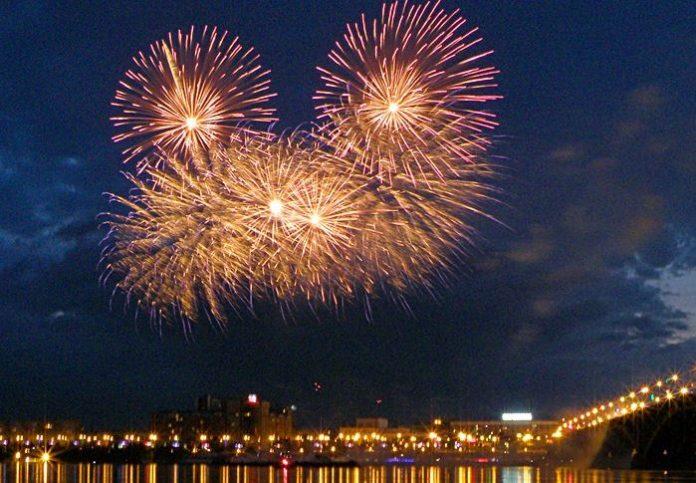 Где в Ульяновске прогремит салют 2 августа