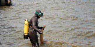 Спустя трое суток ульяновские водолазы нашли тело утонувшего рыбака