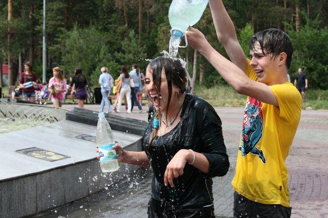 МЧС предупреждает ульяновцев о сильной жаре
