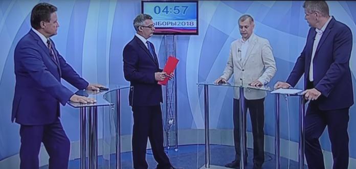 Эмоциональные дебаты партий КПРФ и Единая Россия