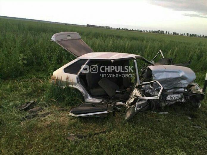 Подробности жестокого ДТП под Уляновском: один погиб, трое госпитализированы. Видео и фото