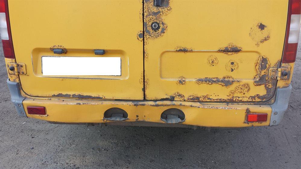 За ржавчину на кузове сняли с рейсов более 30 маршруток. Итоги рейда «Ржавые автобусы»