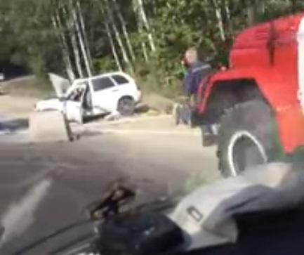 Двое погибли и один человек пострадал в ДТП под Ульяновском