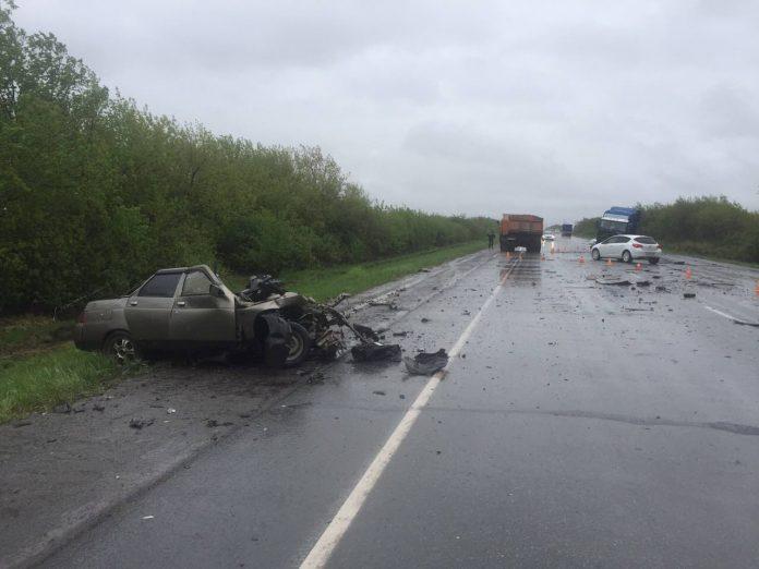 26-летний парень погиб в ДТП под Ульяновском