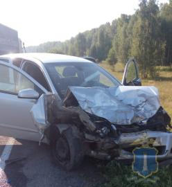 Жесткое ДТП под Ульяновском. Пострадали двое взрослых и 8-летний ребенок
