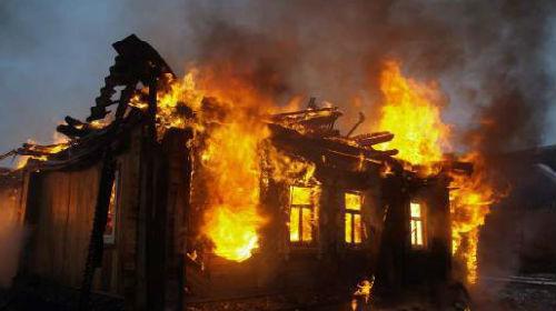 Под Ульяновском заживо сгорел мужчина