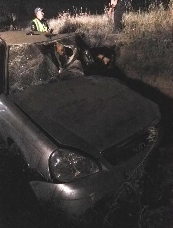 Под Ульяновском легковушка улетела в кювет: один человек погиб и четверо пострадали