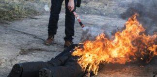 Сгорел заживо: под Ульяновском мужчина облил себя бензином и поджег напротив здания поселковой администрации