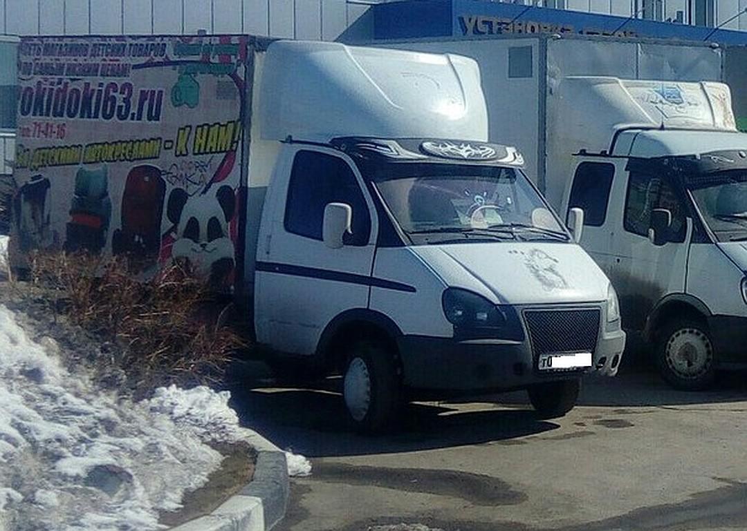 Именно в этом грузовике прятали труп погибшей Фото: соцсети