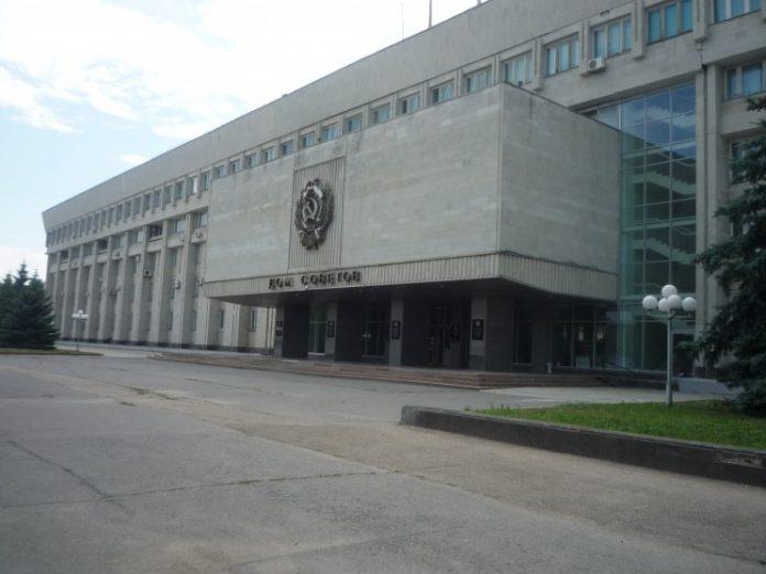 Здание, где расположено Законодательное собрание Ульяновской области