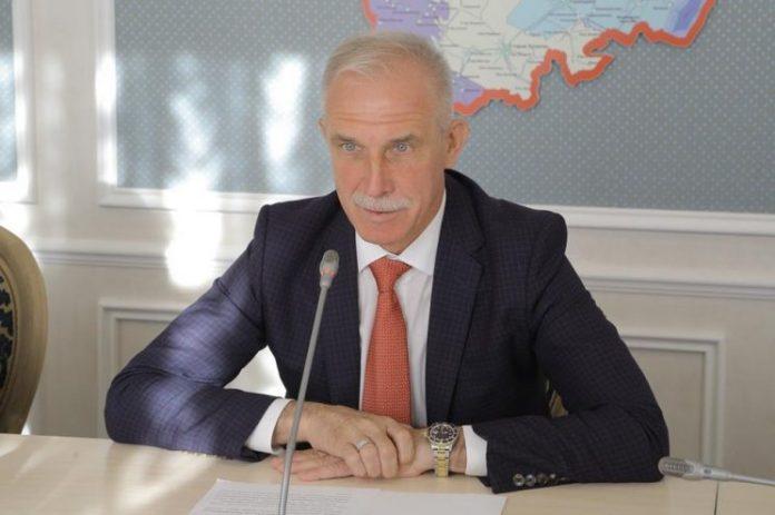 Сергей Морозов, губернатор Ульяновской области. Фото сделано в сентябре 2018 года