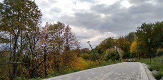 Как выглядит ремонт парка Дружбы народов за 41 миллион рублей