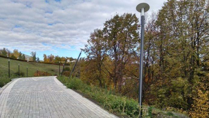 Последствия благоустройства парка Дружбы народов в центре Ульяновска